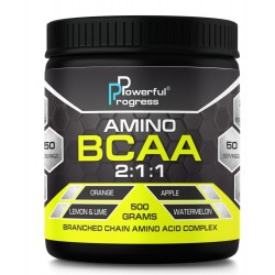Amino BCAA 2:1:1 500 г POWERFUL PROGRESS