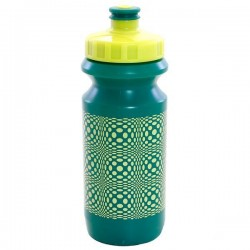 Фляга 0,6 Green Cycle DOT с большим соском, green nipple/ yellow cap/ green bottle
