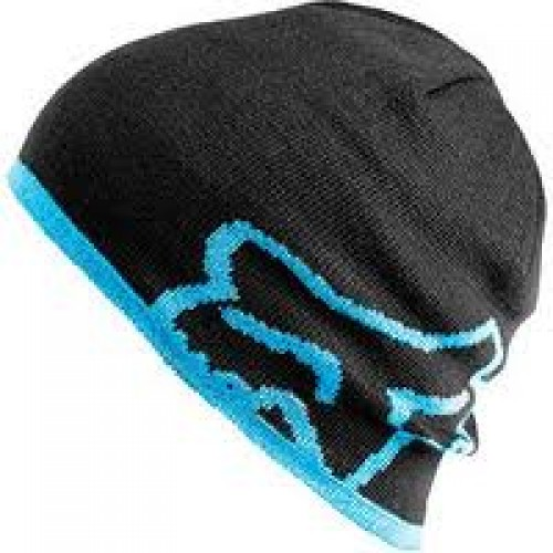 Шапка Fox streamline beanie blue-black - фото 1